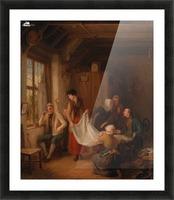 The Pedlar Picture Frame print