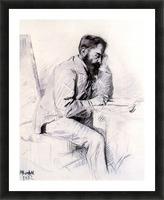 Charles de Toulouse Lautrec by Toulouse-Lautrec Picture Frame print