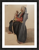 The Dragoman of Mr. Moore English Consult at Beyrout Picture Frame print