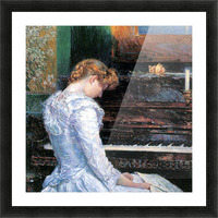 The Sonata by Hassam Picture Frame print