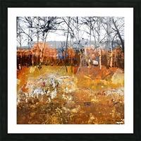 Les saisons Picture Frame print