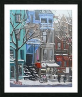 Berri Montreal Picture Frame print