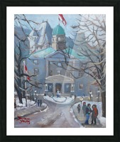 McGill Picture Frame print