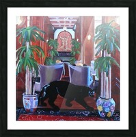 Bengal Lounge Picture Frame print