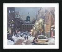 McGill Ghetto Night Scene Picture Frame print