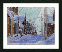Charlottetown PEI Picture Frame print