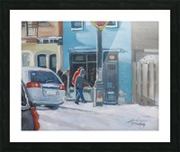 The Book Shop McGill Ghetto Picture Frame print