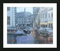 Quebec Picture Frame print