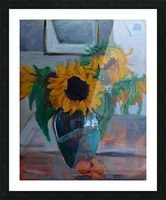 sunflowers home Picture Frame print