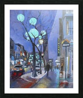 Rue St Denis Picture Frame print