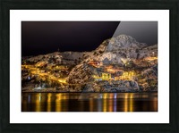Across the Harbour Picture Frame print