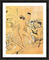 Chocolat dance by Toulouse-Lautrec Picture Frame print