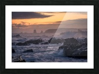 Unforgiving Seas Picture Frame print