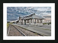Gare Picture Frame print