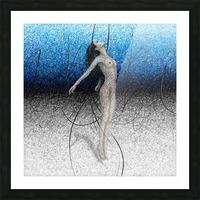 Ascension - Blue Picture Frame print