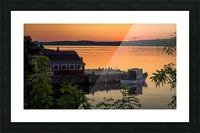 Atlantic Sunrise Picture Frame print