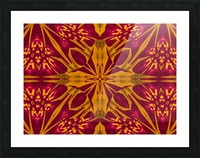Wildflower of Gold and Red Picture Frame print