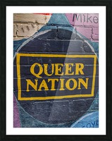 Queer Nation - Toronto Picture Frame print