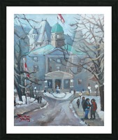 McGill University  Picture Frame print