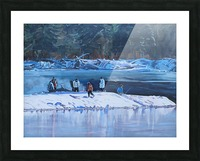Fire Ice and Friendship Picture Frame print