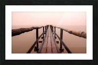 Enter The Lake Picture Frame print