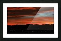 SkyFire Picture Frame print