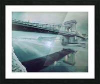 Chain Bridge Picture Frame print