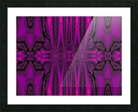 Purple Desert Song 1 Picture Frame print