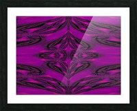 Purple Desert Song 5 Picture Frame print