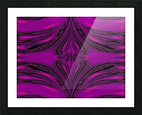 Purple Desert Song 6 Picture Frame print
