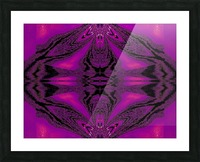 Purple Desert Song 7 Picture Frame print