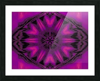 Purple Desert Song 22 Picture Frame print