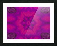 Purple Desert Song 29 Picture Frame print