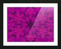 Purple Desert Song 32 Picture Frame print