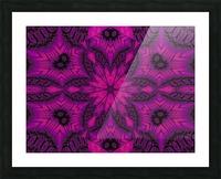 Purple Desert Song 41 Picture Frame print