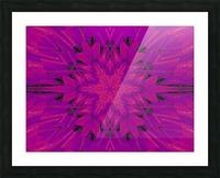 Purple Desert Song 45 Picture Frame print