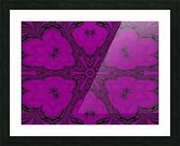 Purple Desert Song 47 Picture Frame print