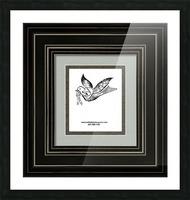 art dove frame Picture Frame print
