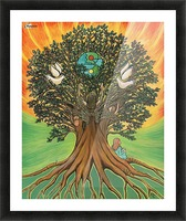 Rooted In The Tree Of Humanity Picture Frame print