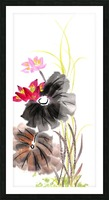 Lotus Flower Picture Frame print
