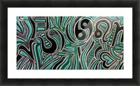 Synergy Triptych Left panel Picture Frame print