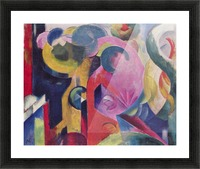 Composition III by Franz Marc Picture Frame print
