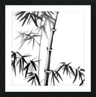Bamboo - Chinese Style Picture Frame print