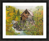 Crystal Hideaway Picture Frame print
