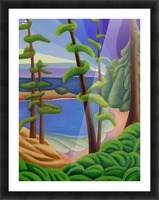 On Vancouver Island Picture Frame print
