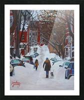 Lorn Avenue McGill Ghetto Picture Frame print