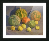 Pumpkins_And_Apples Picture Frame print