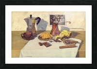 Still_Life_With_Coffee_50x80 Picture Frame print