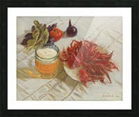 Still_Life_With_Crawfish Picture Frame print