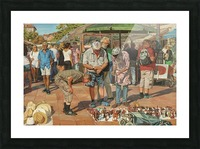 Market_In_Nice Picture Frame print